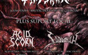 Cenotaph (TUR), Saddayah & Acid Scorn live in fabrica