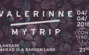 "Valerinne – live & album release ""Ahead Is A Barren…"