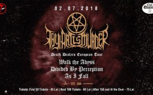 THY ART IS MURDER CONCERT IN BUCHAREST