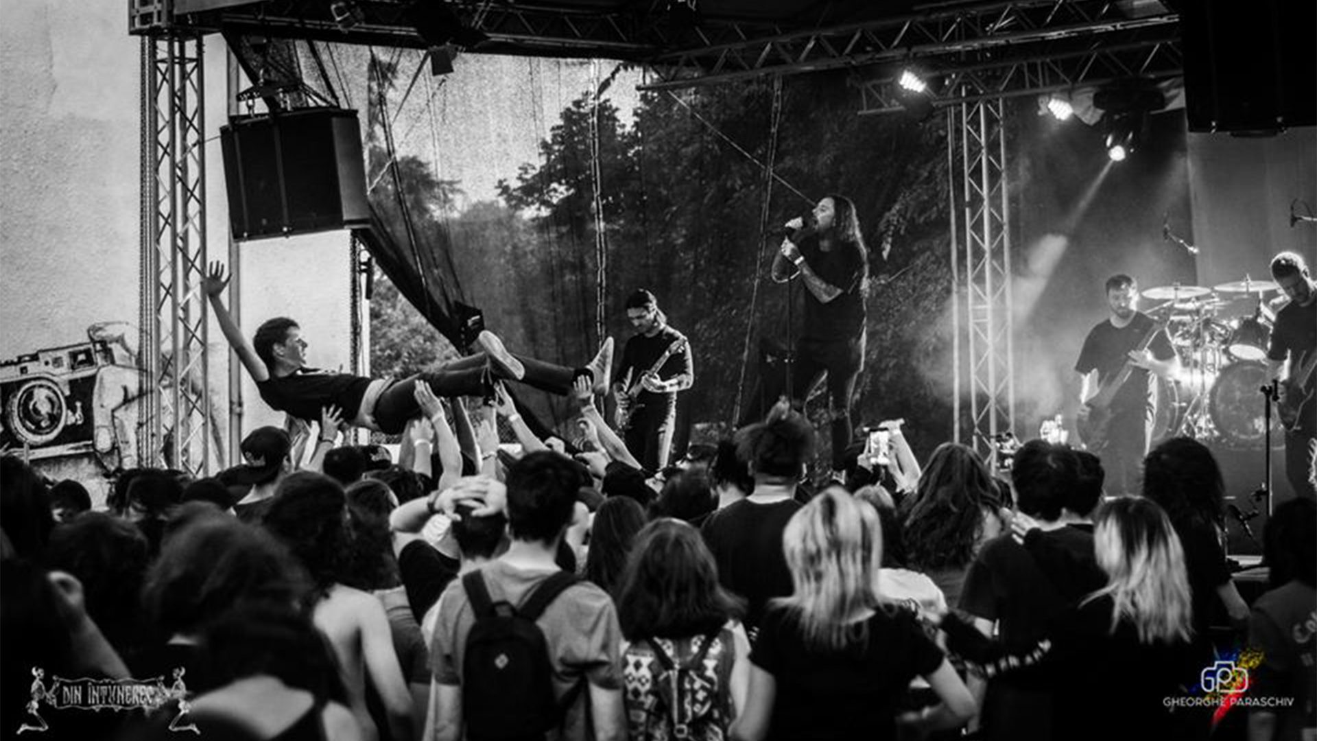 Thy Art Is Murder Local Support At Quantic Open Air