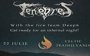 Tenebres on the Celtic Transilvania Fest Stage