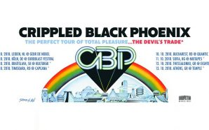 Crippled Black Phoenix & The Devil's Trade live in Bucharest…