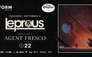 Leprous, Agent Fresco & 22 at Quantic Club-review