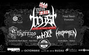 LIVE METAL with Ethernus and Kroppen – Buzau, Underground pub