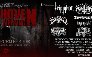 Soon: Eindhoven Metal Meeting 2018