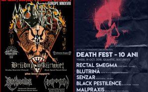 Mystifier, Brudny Skurwiel, Rotheads, Kroppen live in fabrica!/ Death Fest…