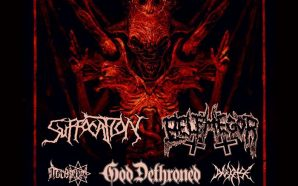 Info & schedule to follow for Suffocation, Belphegor, God Dethroned…