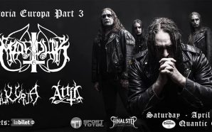 Marduk / Valkyrja / Attic live in Bucharest