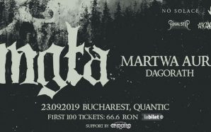 Mgła; Martwa Aura and Dagorath- Live in Quantic