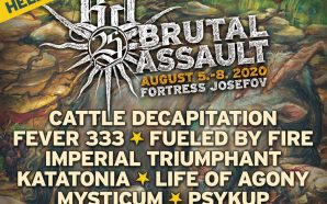 New confirmations for Brutal Assault 2020