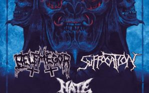 Suffocation, Belphegor & Hate at Quantic Club