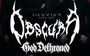 Obscura & God Dethroned show at Quantic Club!