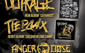 Double release show – Outrage / Пердах + Anger Dose