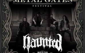 Haunted, the third band for Metal Gates 2020!