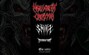 Malevolent Creation [USA] / Domination Inc. [GR] / Sphinx [UK]…
