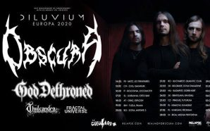 Obscura – Live in Bucharest- gig review